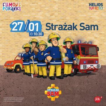 Filmowe Poranki- Strażak Sam cz. 9- Kino Helios Atrium Biała 27.01