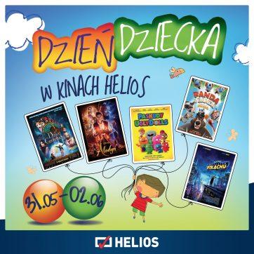 Weekend Dnia Dziecka w kinie Helios