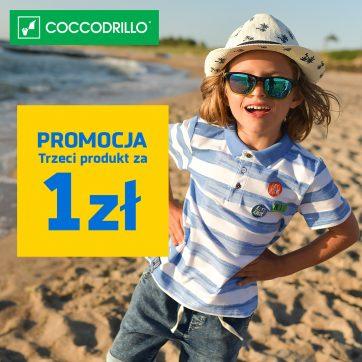 Nie przegap okazji 2+1 za 1 zł! FINAL SALE w Coccodrillo
