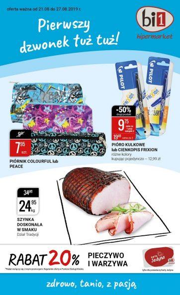 Aktualna oferta promocyjna Hipermarketu bi1