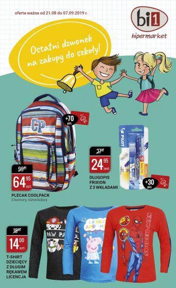 Katalog szkolny w Hipermarkecie bi1