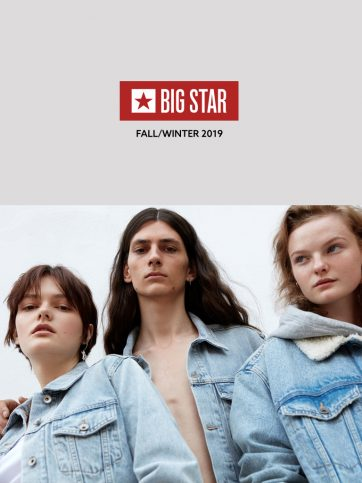 Nowa kolekcja jesienno-zimowa BIG STAR JEANS już w sprzedaży.