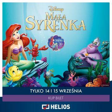 """""""Mała Syrenka"""" w kinie Helios Atrium Biała"""