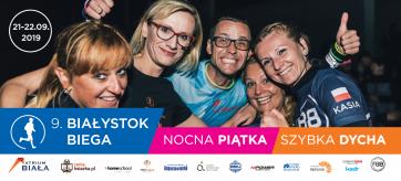 9. Białystok Biega ze wsparciem Atrium Biała