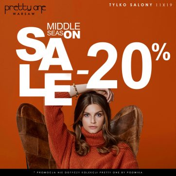 Pretty One – MIDDLE SALE START