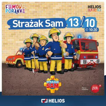 Filmowe Poranki Strażak Sam cz. 13- Helios Atrium Biała- 13.10