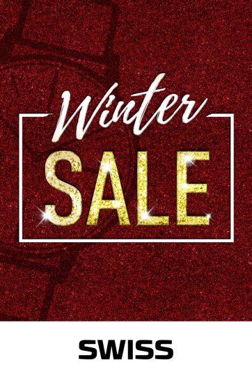 WINTER SALE w butikach SWISS!
