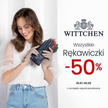 Wszystkie rękawiczki -50%!