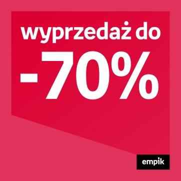 Wyprzedaż do -70% w Empiku