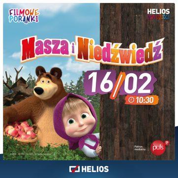 Filmowe Poranki Masza i Niedźwiedź cz. 5