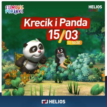 Filmowe Poranki Krecik i Panda cz. 8.