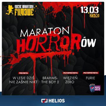 Maraton Horrorów w kinie Helios!