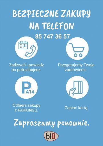 Nowa Usługa – Bezpieczne zakupy Bi1
