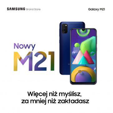 Nowy Galaxy M21 już jest!