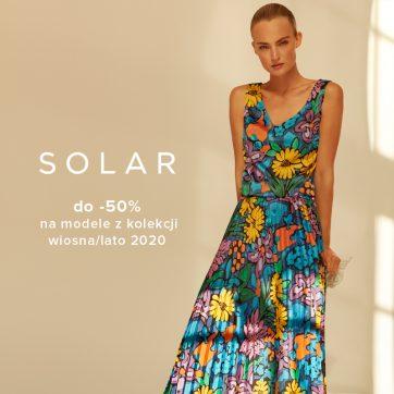 SOLAR do -50% na modele z kolekcji wiosna/lato 2020