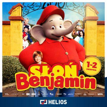 Słoń Benjamin seanse specjalne 1-2.08.2020 kino Helios