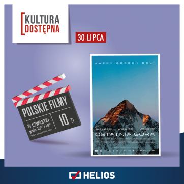 Kultura Dostępna w kinie Helios