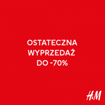 Końcówka wyprzedaży w H&M