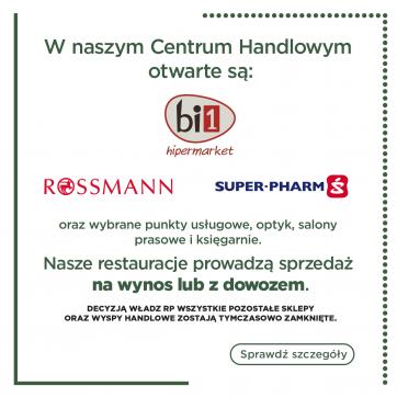 Zasady funkcjonowania Centrum Handlowego Atrium Biała