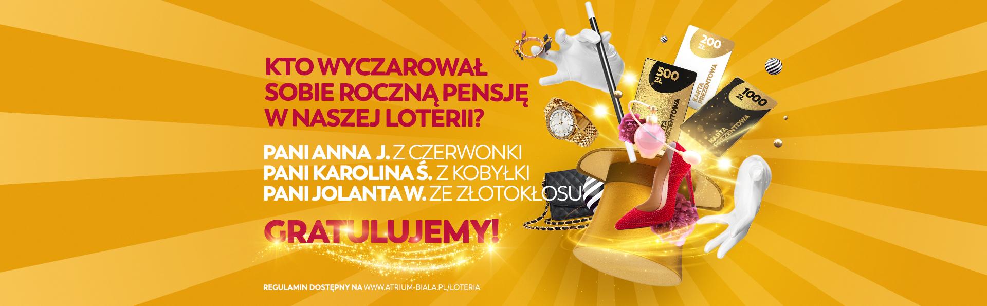Gratulujemy zwycięzcom magicznej loterii!