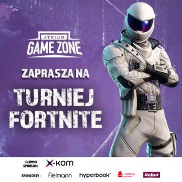 TURNIEJ FORTNITE ATRIUM GAME ZONE z Atrium Biała